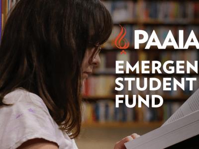 emergency student fund, girl reading