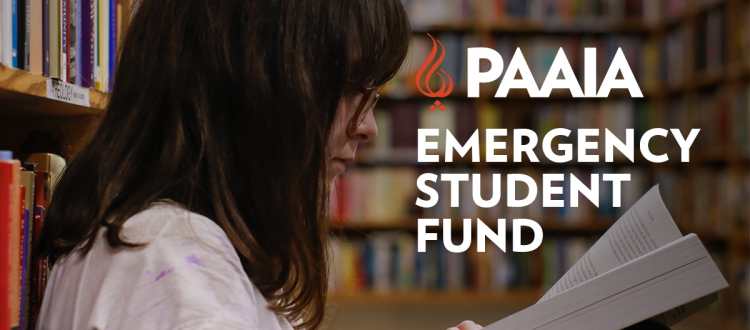 emergency student fund, girl reading