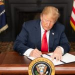 Trump signing document to issue more sanctions on Iran