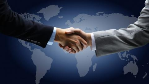 Leaders Shaking Hands