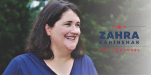 Zahra Karinshak for Congress