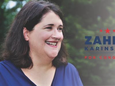 Zahra Karinshak for Congress