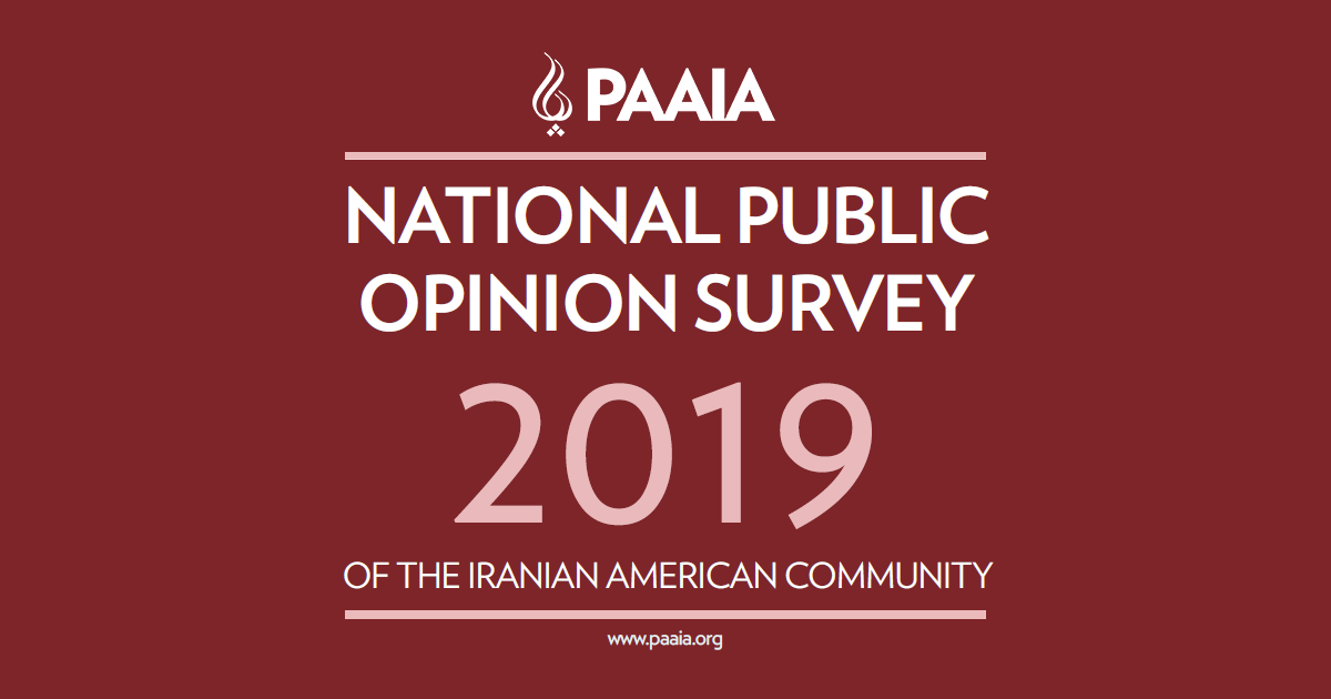 National Public Opinion Survey of Iranian Americans