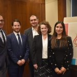 Morad Ghorban, Joel Rubin, Alex Vatanka, Suzanne Maloney, and Gissou Nia at PAAIA poll briefing