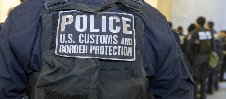 customs and Border Patrol Jacket