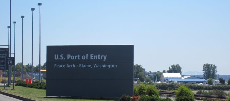 US Port of entry